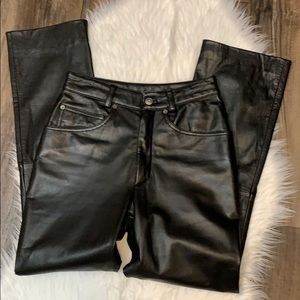 Wilson's maxima High Rise Leather Pants